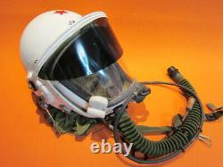 Flight Helmet High Altitude Astronaut Space Pilots Pressured /1# 00177A
