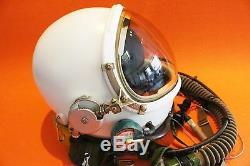 Flight Helmet High Altitude Astronaut Space Pilots Pressured 1# XXL LARGEST