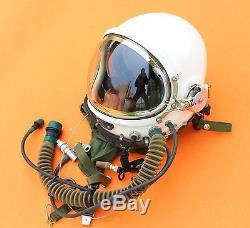 Flight Helmet High Altitude Astronaut Space Pilots Pressured 1# XXL NEW 10001