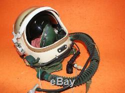 Flight Helmet High Altitude Astronaut Space Pilots Pressured 1# XXL NEW AAAA