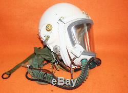 Flight Helmet High Altitude Astronaut Space Pilots Pressured 58#