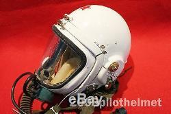Flight Helmet High Altitude Astronaut Space Pilots Pressured FLIGHT SUIT 1# XXL