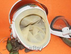 Flight Helmet High Altitude Astronaut Space Pilots Pressured + Flight Hat 01000
