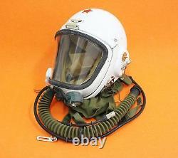 Flight Helmet High Altitude Astronaut Space Pilots Pressured + Flight Hat 010121