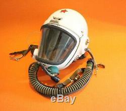 Flight Helmet High Altitude Astronaut Space Pilots Pressured Flight Hat 0817