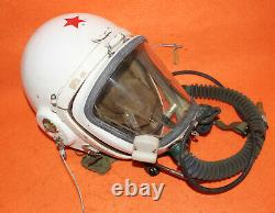 Flight Helmet High Altitude Astronaut Space Pilots Pressured + Flight Hat $ 299