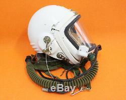 Flight Helmet High Altitude Astronaut Space Pilots Pressured Flight Hat 58# 0722