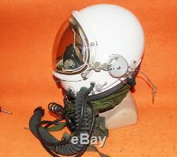 Flight Helmet High Altitude Astronaut Space Pilots Pressured +Flight Suit 11024