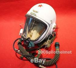 Flight Helmet High Altitude Astronaut Space Pilots Pressured Flight Suit $199.9