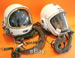 Flight Helmet High Altitude Astronaut Space Pilots Pressured Two Helmet 202122