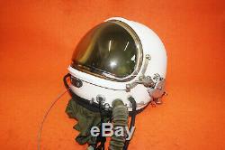 Flight Helmet High Altitude Pressure Pilot Helmet SizeO# XXXL
