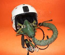 Flight Helmet Mig-29 Air Force Pilot Helmet Size1# XXL Oxygen Mask