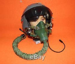 Flight Helmet Naval Aviator Pilot Helmet 1# XXL Oxygen Mask