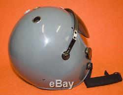 Flight Helmet Naval Aviator Pilot Helmet 58# XXL Oxygen Mask Ym-6512g
