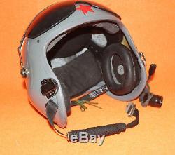 Flight Helmet Naval Aviator Pilot Helmet Oxygen Mask Ym-6m 0900417