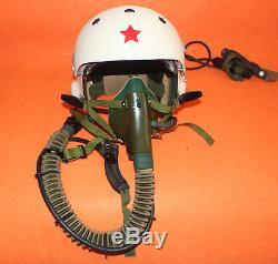 Flight Helmet Original MIG-21 Pilot Helmet TK-2A OXYGEN MASK YM-6505