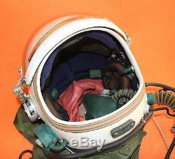 Flight Helmet Spacesuit Airtight Astronaut Fighter Pilot Helmet 1# 011811m