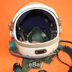 Flight Helmet Spacesuit Airtight Astronaut Fighter Pilot Helmet 1# XXL 010177