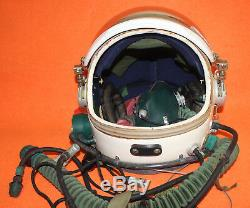 Flight Helmet Spacesuit High Altitude Astronaut Space Pilots Helmet. Flight Suit
