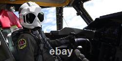 Flight Helmet Visorcover Assembly Eeu-2a/p Goggles Pilot Hgu Sph