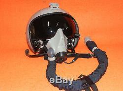 Flight Helmet Zsh-7apn Pilot Helme Air Force Su/30 Km-35m Oxygen Mask