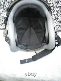 Flight Helmet pilot GENTEX HGU-55 size Large new dubble visor