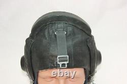 Flight Soviet Leather Pilot Helmet Original
