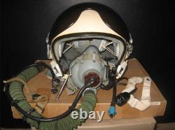 Flight equipment of the pilot of the USSR Air Force Protective helmet ZSH-5 and