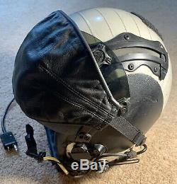 GENTEX HGU 68 P NAVY Pilot Flight Helmet with Accessories. Pre Owned