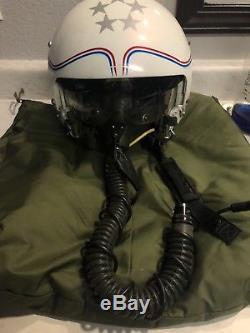 GENTEX Pilots Flight Helmet HGU-26/P Dual Visor with U94A/U Oxygen Mask