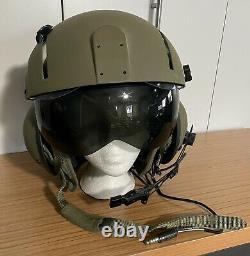 GENTEX SPH-4B Modern Helicopter Pilot Flight Helmet withMic SPH4 Air Force XL