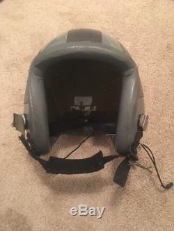 GENTEX US HGU-55/P Pilot Flight Helmet Size Large Vintage