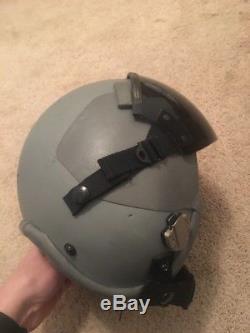 GENTEX US HGU-55/P Pilot Flight Helmet Size Medium Vintage MBU Visor