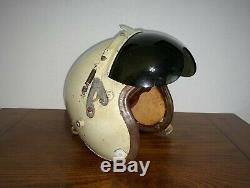 GENUINE US AIR FORCE P-4 PILOT FLIGHT HELMET EARLY VERSION NOT A or B USAF