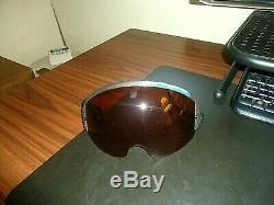 Gentex / EDO Corp. Pilot Flight Helmet Visor, 283101-1001-6, Laser Protect, withSN