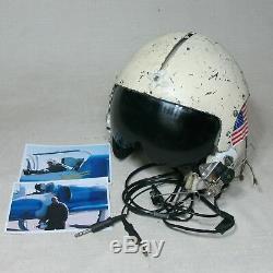 Gentex Fscm 97427 Pilot Flight Communication Helmet XL X-large Fair Condition