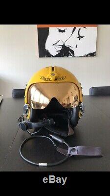 Gentex HGU-33 Tribute Blue Angels Flight Helmet Pilot Helmet