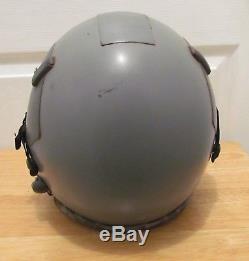 Gentex HGU-55/P Combat Edge Pilot's Aviator Flight Helmet Size Large & KMU-511P