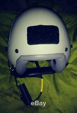 Gentex HGU-55/P FLIGHT HELMET, Medium + Pilot Helmet/Gear Bag Fighter Bomber