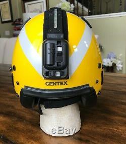 Gentex Helmet Sar Flight Pilot Diver Winchman Search & Rescue Helicopter