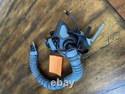Gentex Oxygen Mask MBU-20P MEDIUM NARROW 17 18 19 for PILOT FLIGHT HELMETS