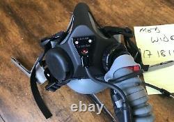 Gentex Oxygen Mask MBU-20P MEDIUM WIDE 17 18 19 for PILOT FLIGHT HELMETS