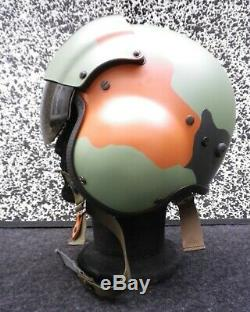 Gentex Pilot Flight Helmet HGU-39 size Extra Large Bundeswehr Tankcamouflage