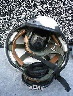 Gentex Pilot Flight Helmet HGU-39 size Extra Large + GENTEX MBU-20 mouthpiece