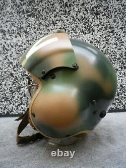 Gentex Pilot Flight Helmet HGU-39 size Regular S. E. A. Camouflage LN tailcode