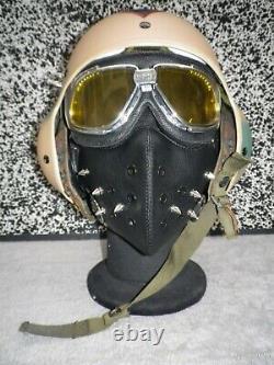 Gentex Pilot Flight Helmet HGU-39 size Regular S. E. A. Camouflage / steampunk