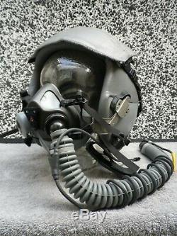 Gentex Pilot Flight Helmet HGU-55 +MBU-20 oxymask