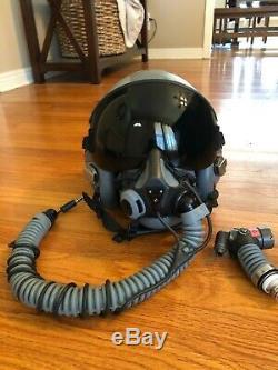 Gentex Pilot Flight Helmet Oxygen Mask MBU-20/P with CRU-60/P