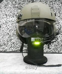 Gentex Pilot Flight Helmet SPH-4 AF size REGULAR with working liplight