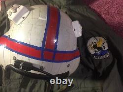 Gentex SPH-3 Navy Anti-Submarine Helicopter Pilot Helmet Flight Suit Flag